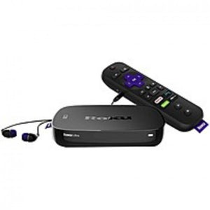 Roku Ultra 4660R Network Audio/Video Player - Wireless LAN - Black - microSD Supported - DTS Digital Surround, DTS, Dolby Digital - Netflix, Hulu, Amazon Instant Video, WatchESPN, CNBC, Google Play Movies & TV, CBS Radio, YouTube, HBO NOW, PBS, Pandora, .