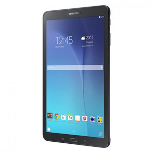 Samsung Galaxy Tab E SM-T560 Tablet - 9.6 - 1.50 GB RAM - 16 GB Storage - Android 5.1 Lollipop - Black - Qualcomm Snapdragon 410 APQ8016 SoC - ARM Cortex A53 Quad-core (4 Core) 1.20 GHzmicroSD Supported - 2 Megapixel Front Camera - 5 Megapixel Rear Camer