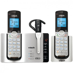 Vtech Dect 6.0 Connect-to-cell 2-handset Phone System & Cordless Headset (2 Handset) VTEDS66713