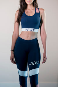 NEXT - Legging | Blue/Pink