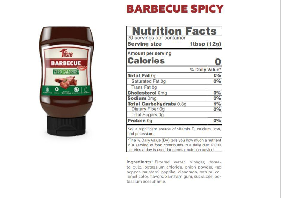 MR Taste Barbecue Spicy