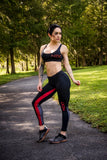 NEXT - Legging | Black/Red