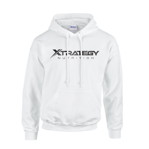Xtrategy Nutrition White Hoodie