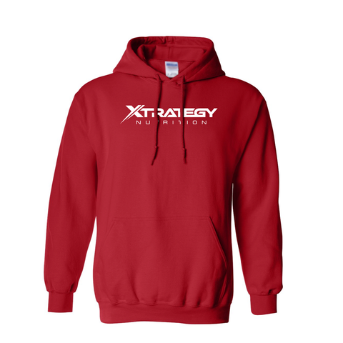 Xtrategy Nutrition Red Hoodie