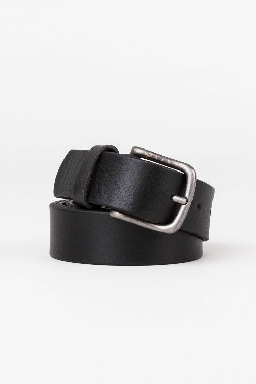 lash leather belt - rusty