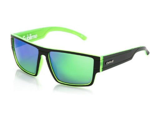 sublime matt blk/green