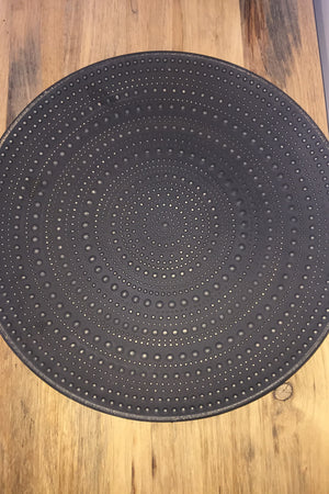 jamala dot decor tray large