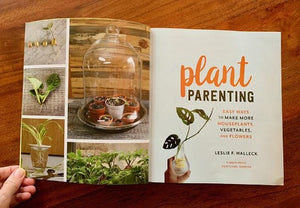 plant parenting by leslie halleck