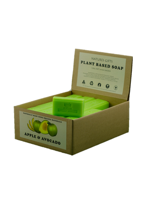 plant based soap - apple and avocado