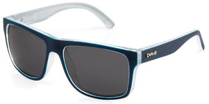 crimson polarised navy-clear carve sunglasses