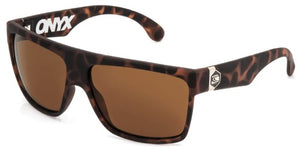 onyx polarized tort carve sunglasses