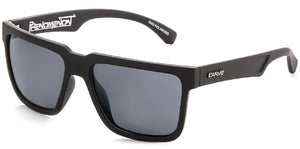 phenomenon polarized matt black carve sunglasses