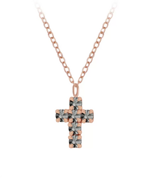 black crystal cross