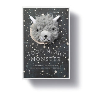 Goodnight Monster plush and book set