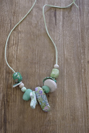 Green soul necklace