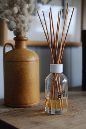 aroma reed diffuser made my mabel and meg