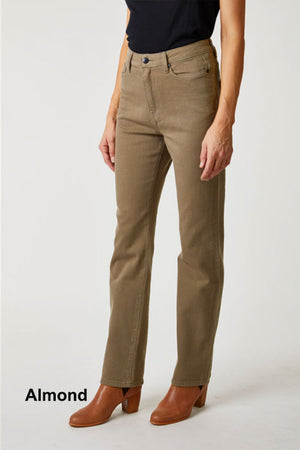 toorallie bendigo high rise jeans almond