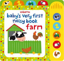 Load image into Gallery viewer, Baby's Very First Noisy Book - Farm