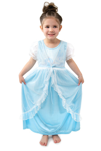 Cinderella Nightgown with White Robe