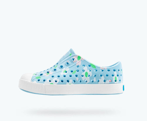 Jefferson Print - Sky Blue/ Shell White/ Daisy