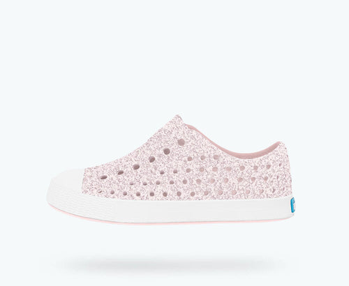 Jefferson - Milk Pink Bling/ Shell White