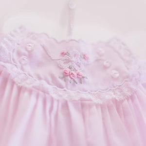 Vintage Bow Collection Bubble - Pink
