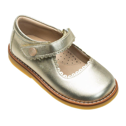 Mary Jane Toddler - Metallic Gold