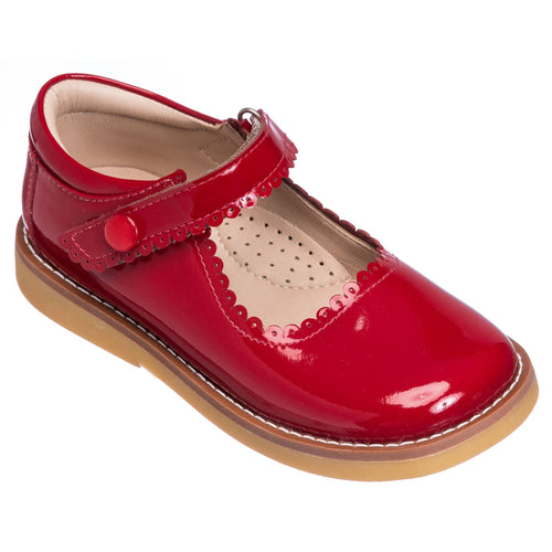 Mary Jane - Patent Red