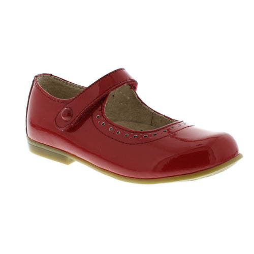 Emma Mary Jane - Red Patent
