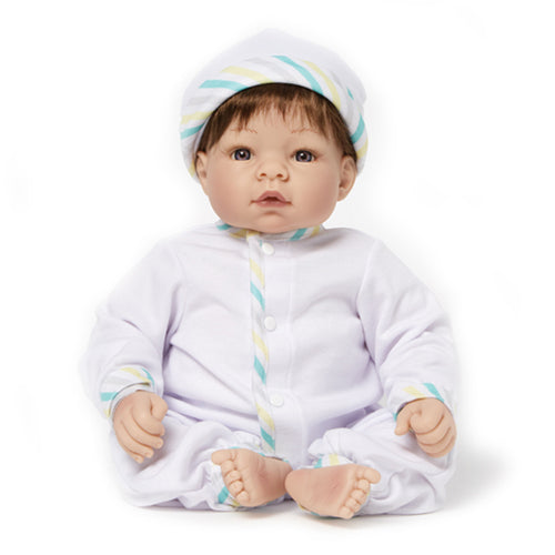Newborn Nursery 76015 - Munchkin Blue Eyes/Brown Hair/Lt Skin