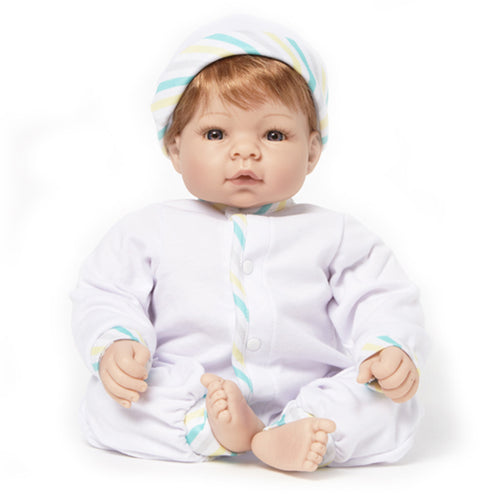 Newborn Nursery 76020 - Munchkin Blue Eyes/Strawberry Blonde Hair/Lt Skin