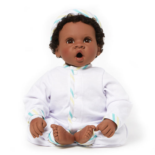 Newborn Nursery  76035 - Angel Love Dark Skin/Brown Eyes/Black Hair