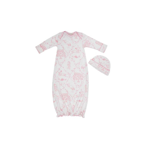 Adorable Everyday Set - Chinoiserie Charm with Palm Beach Pink