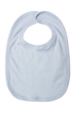 Load image into Gallery viewer, Plain Edge Bib - Light Blue