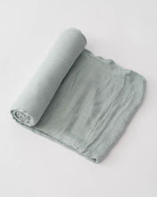 Load image into Gallery viewer, Deluxe Muslin Swaddle - MORE COLORS