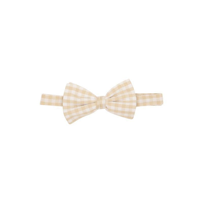Baylor Bow Tie - Keenland Khaki Gingham