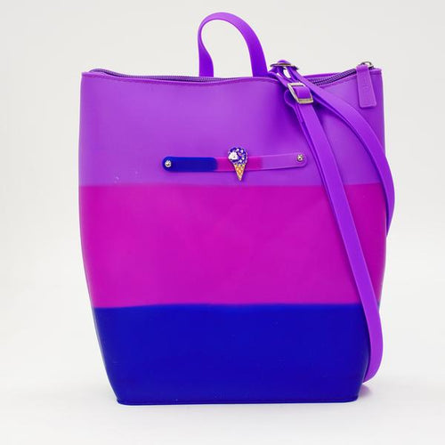 Blueberry Yummy Gummy Zip Backpack