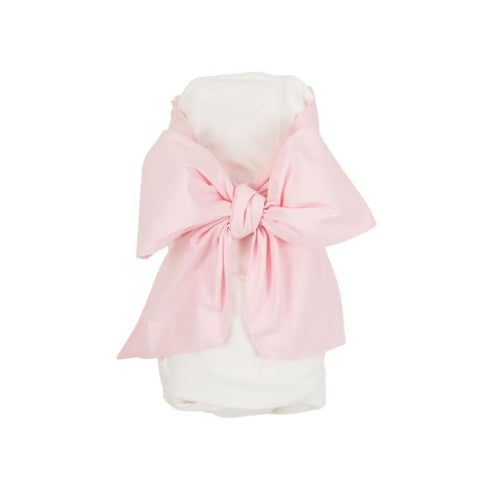 Bow Swaddle - Palm Beach Pink