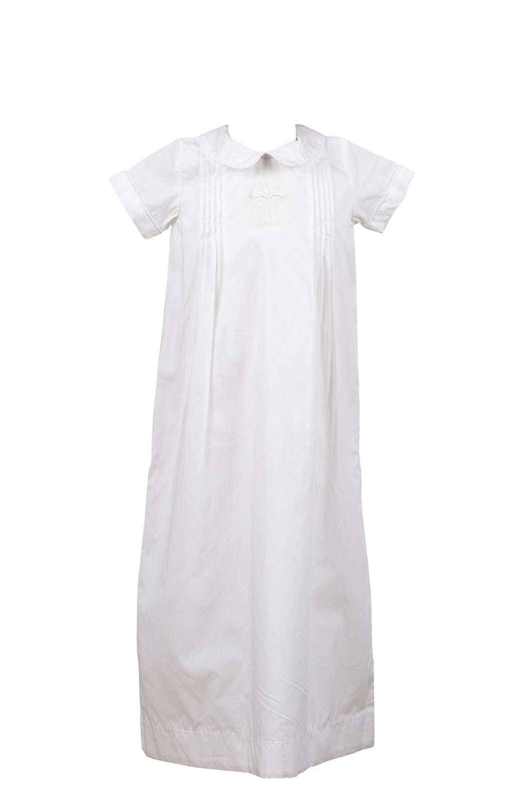 Cross Baptism Gown - Boy