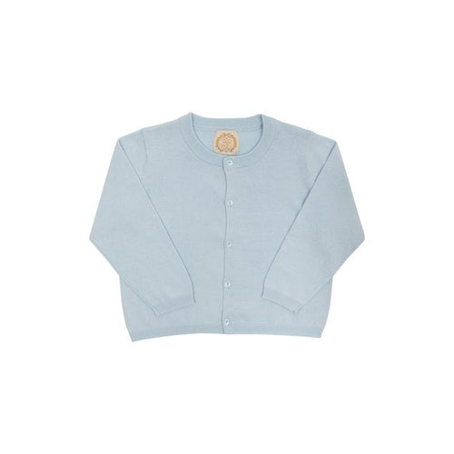 Cambridge Cardigan (Unisex) - Buckhead Blue with Light Blue Pearlized Buttons