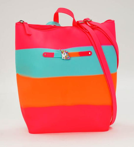 Lollipop Swirl Yummy Gummy Zip Backpack