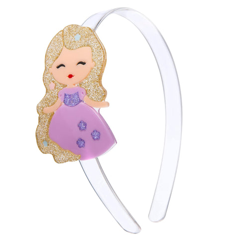 Cute Dolls Headband - Rapunzel