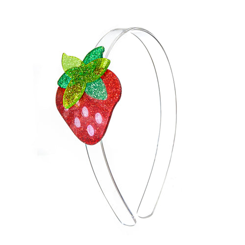 Strawberry Glitter Headband