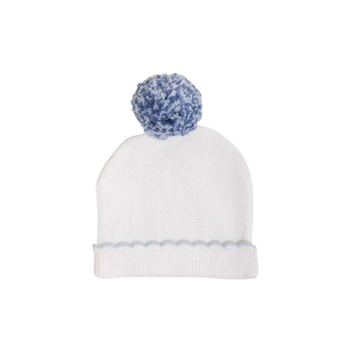 I'm Here Hat - Worth Avenue White with Buckhead Blue