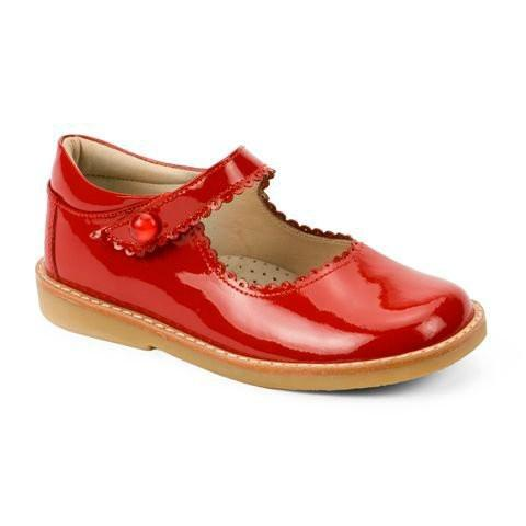 Mary Jane Toddler - Patent Red