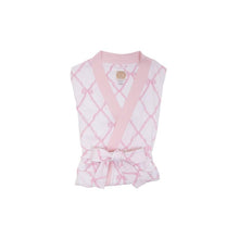 Load image into Gallery viewer, Ready or Not Robe - Belle Meade Bow with Palm Beach Pink