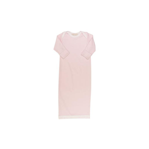 Sadler Sack Gown - Plantation Pink with White