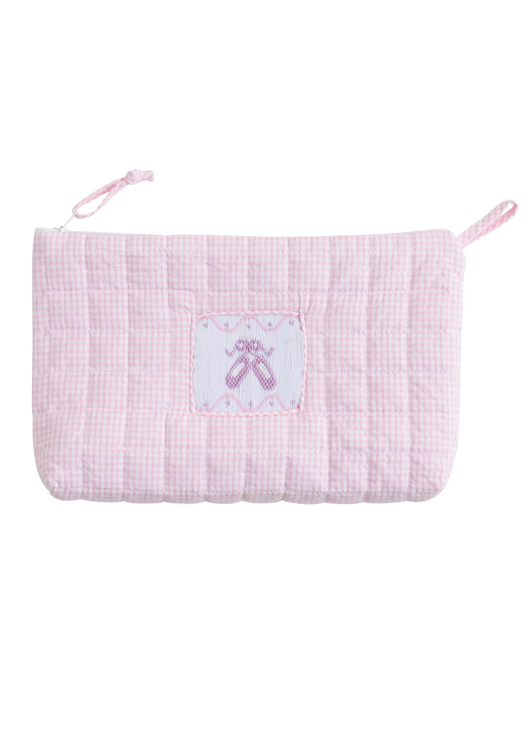 Quilted Cosmetic Bag - Ballet