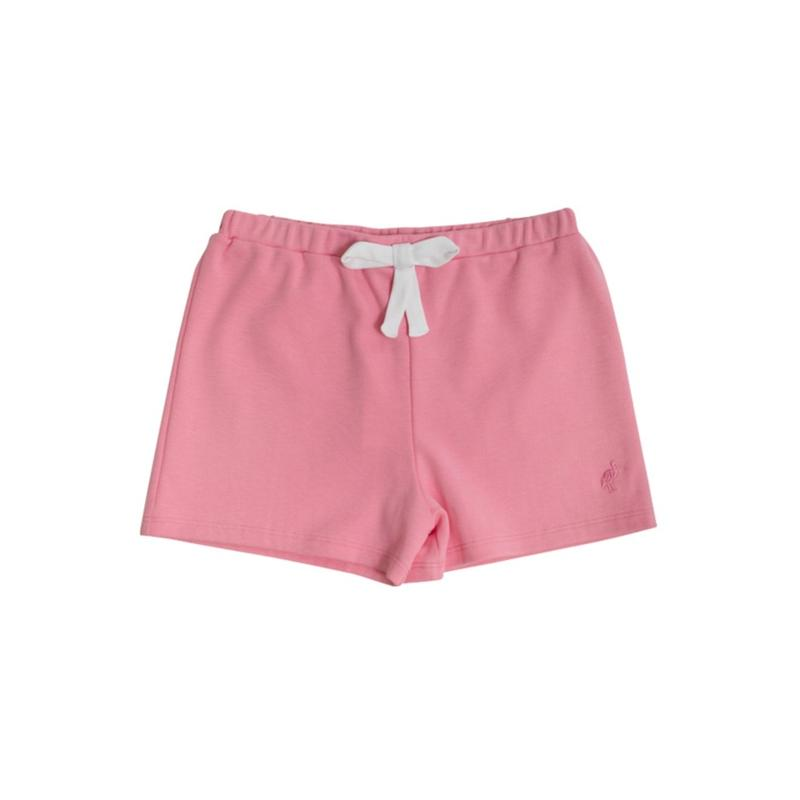Shipley Short with Bow - Hamptons Hot Pink with White