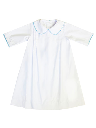 Whipstitch Daygown - Blue